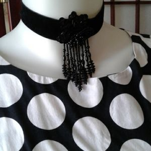 Necklace ...choker and earrings